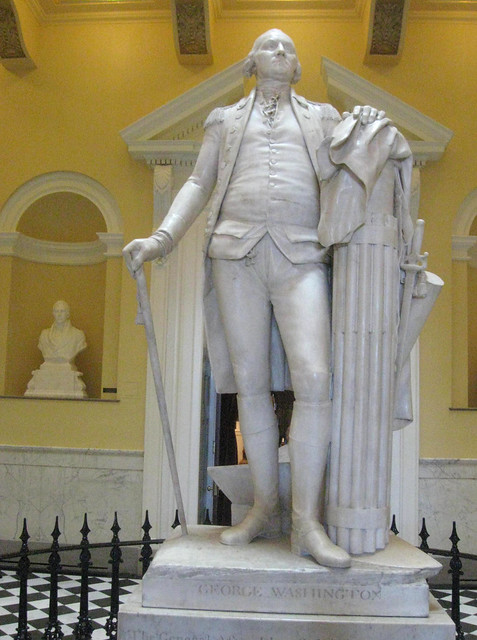 George Washington, Life Size in Richmond, Virginia