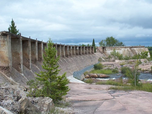 Pinawa Dam Ruins Spillway