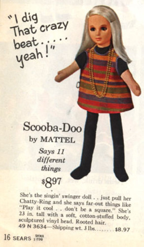 Scooba-Doo Hippie doll by Mattel @ Sears