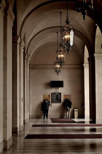 San Francisco Architecture; War Memorial Opera