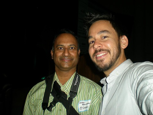 BWE2008: Shashi Bellamkonda and Mike Shinoda