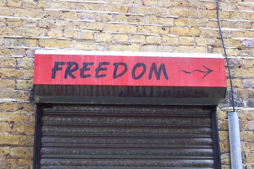 Freedom this way
