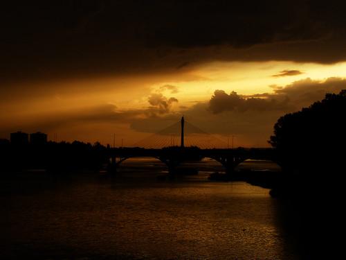 puente badajoz tormenta