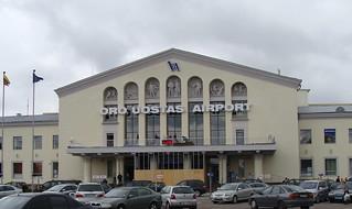 Vilnius Airport, Lithuania, Sept. 2008