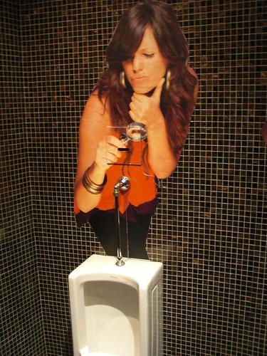 Zeta Bar at Kuala Lumpur Hilton Toilets.