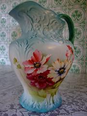 art, dishware, flower, vase, ceramic, still life, pink, porcelain,