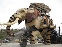 Machine Elephant Nantes