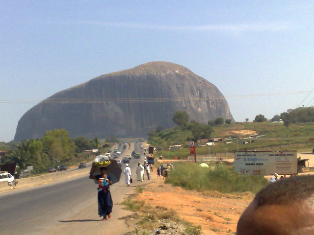 Zuma Rock, near Abuja