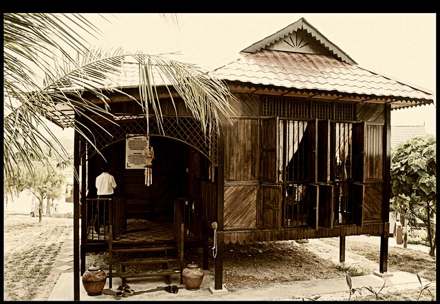 rumah kampung a gallery on flickr