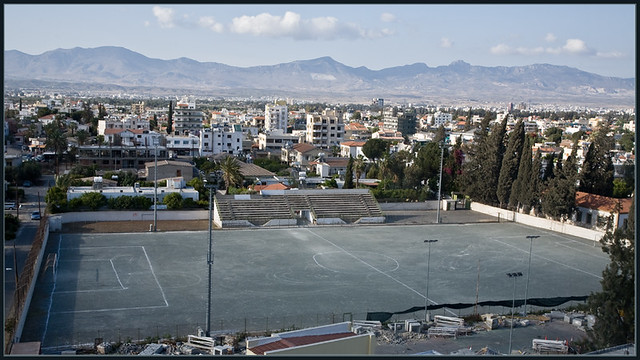 Agios Dometios football pitch
