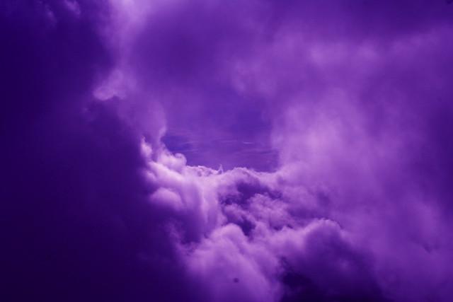 cloudy purple wallpaper - photo #28