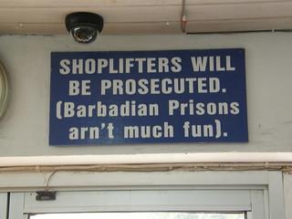 Prison isn't fun