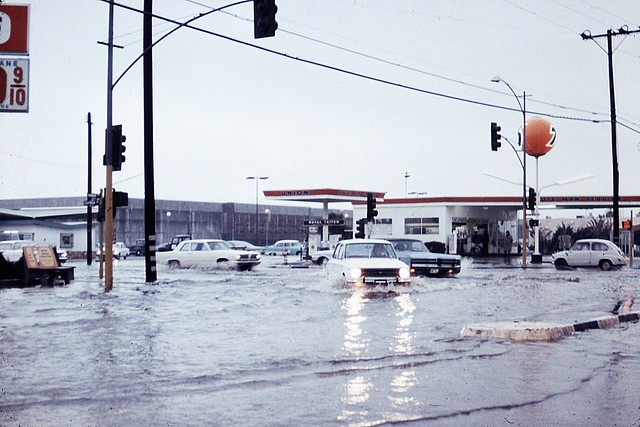 Harbor Blvd At Chapman Ave Garden Grove June 1971