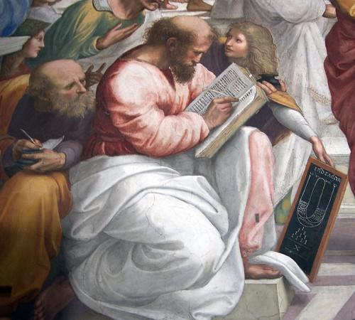 Raphael's Pythagorus