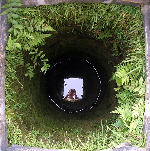 Bottom of a well