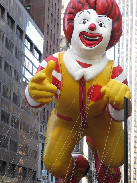Ronald McDonald balloo...