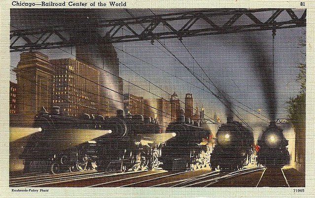 Chicago--Railroad Center of the World