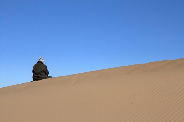 Sitting on Dune