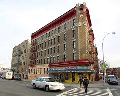 Street Scene, East Morrisania, New York City