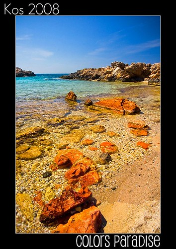 blue red sea sky green beach water colors clouds sunrise island spring rocks crystal sony may vivid ile kos hills greece mai 2008 grece grecja a700 dslra700