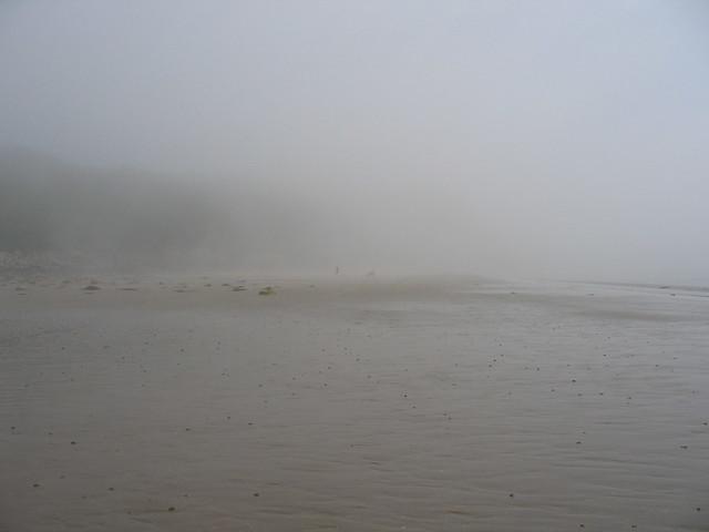 Sea mist Monreith beach Scotland