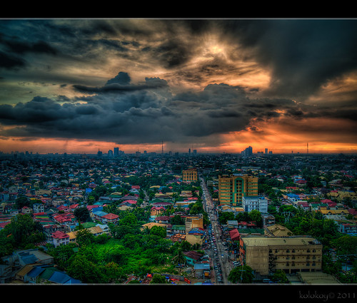sunset philippines hdr pinoy