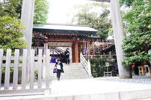 東京大神宮正門