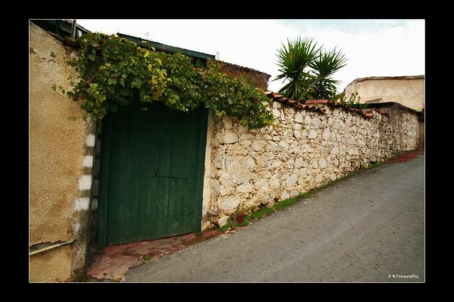 περιτοίχισμα οικίας, Ευρύχου / wall around a house, Evrychou village