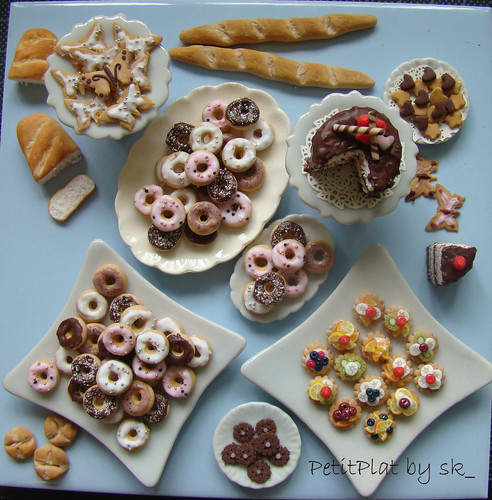 miniature food en masse