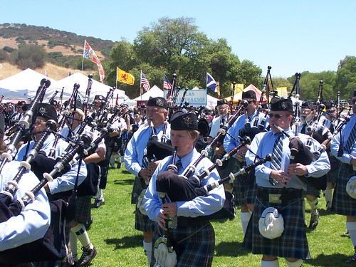 The Monterey Scottish & Celtic Games Festival