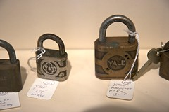 padlock, lock, iron,