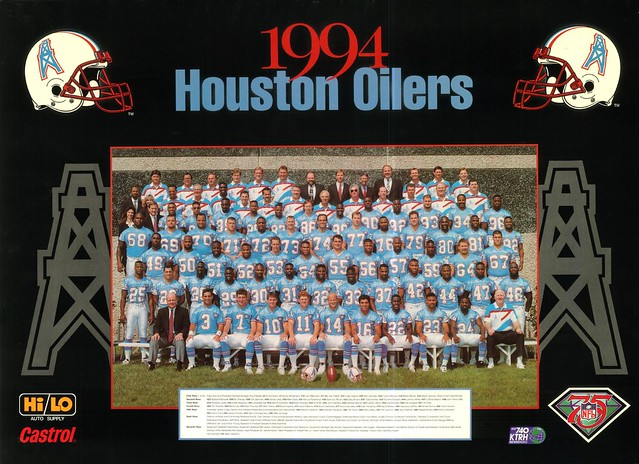luv ya blue  houston oilers 1994