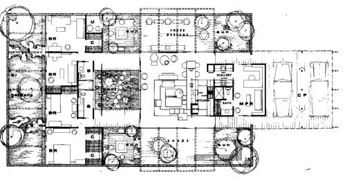 Modern House Plans By Gregory La Vardera Architect July 2008