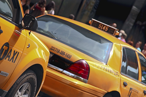 New York.Taxis