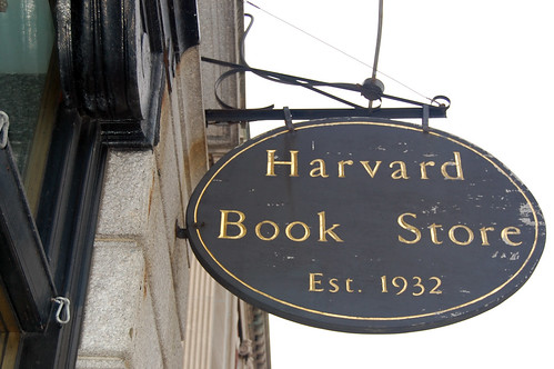 Harvard Book Store Sign