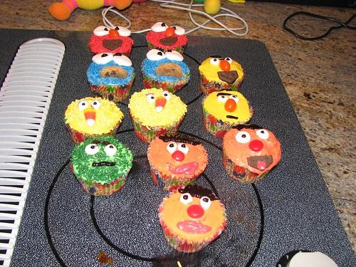 Sesame Street Cupcakes II