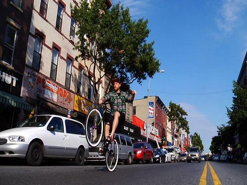 Prolly wheelie on Grand