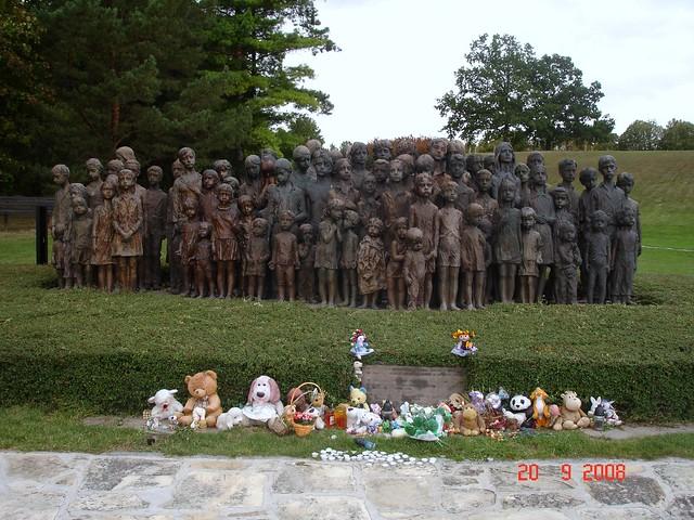 Lidice - Memorial a las víctimas de la Segunda Guerra Mundial