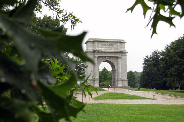 Pennsylvania Valley Forge National Memorial Arch Flickr Photo Sharing