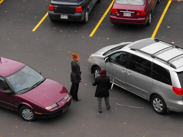 minor car accident