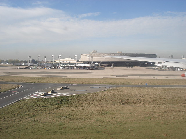 Departing From CDG Terminal 1