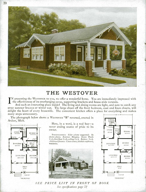 Sterling kit house the westover flickr photo sharing for Bungalow house plans alberta