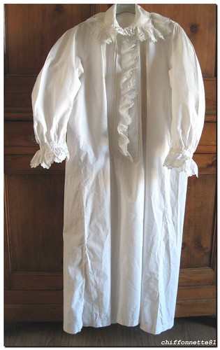 Victorian Nightgown Full Length Front