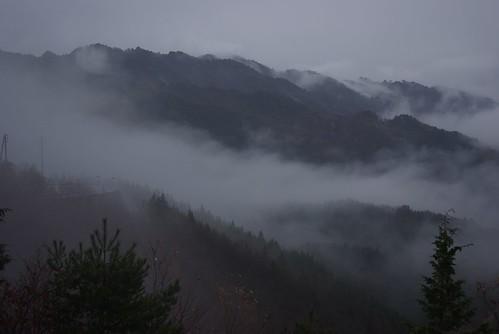 road cloud rain japan pass nagano da1645mm urugi