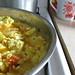 tofu scramble in process