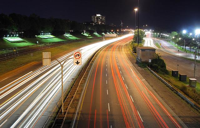 Highway Gardiner ночью