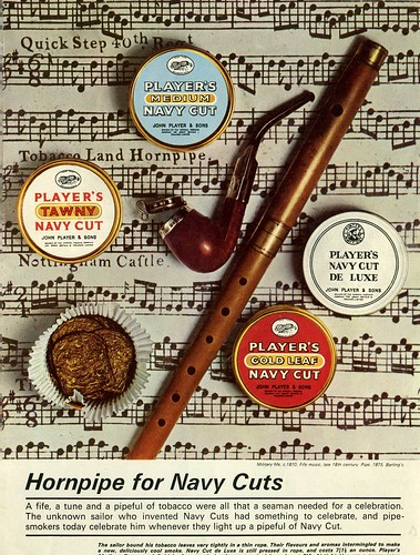 Player's Pipe Tobacco. Advertisement
