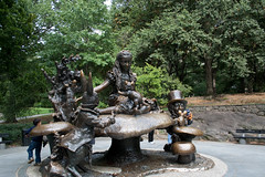 The Entire Alice in Wonderland Sculpture
