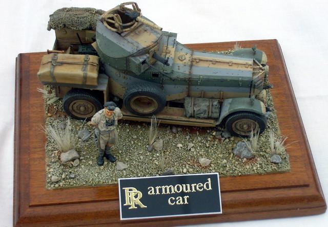 Rolls Royce Armoured Car For Sale