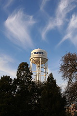 cloud, water tower, tower, sky,